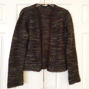 Beautiful MaxMara Italy wool knit cardigan. M. EUC